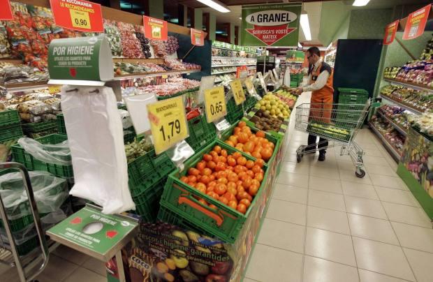 FOTO:EDUARDO MANZANA.....VALENCIA.....Imagen de un supermercado de la cadena Mercadona en Valencia......ARCHDC Eduardo Manzana
